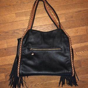 Big Buddha Bags - Big Buddha Leather Tassel Bag